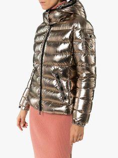 Moncler, Puffer Jackets, Winter Jackets, Metallic Look, World Of Fashion, Hoods, Brand New, Sleeves, Model