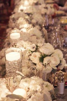 wedding centerpiece idea; photo: Leanne Pederesen Photographers