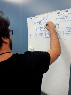 Designing a wine #storytelling. Vincenzo De Maria at work.