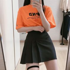 Grunge Outfits, Girl Outfits, Cute Outfits, Look Girl, Ulzzang Fashion, Korean Street Fashion, Character Outfits, Korean Outfits, Aesthetic Clothes