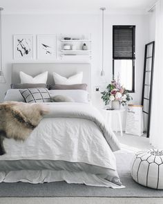 Focal wall, #Bedroom decor. Decorate with beautiful and unique art photo prints. #Photo #Frame