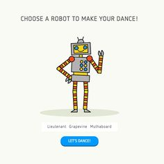 """This web app allows for any budding young coder to select from a series of robots and enter a """"Code Mode"""" to create their own unique dance modes. Computer Coding, Computer Programming, Curriculum, Homeschool, Coding Websites, Robot Theme, Computational Thinking, Teaching Programs, Coding For Kids"""