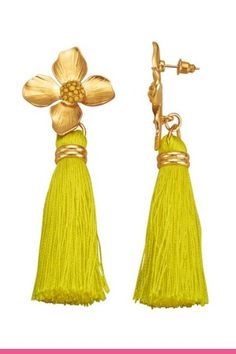 Statementøredobber Tassel Necklace, Drop Earrings, Elegant, Jewelry, Fashion, Classy, Jewellery Making, Moda, Chic
