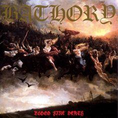 """Blood Fire Death é o quarto álbum da banda Bathory. É freqüentemente considerado o primeiro trabalho do gênero Viking metal. Também é considerado por muitos fãs como o melhor álbum do Bathory. As letras de """"The Golden Walls of Heaven"""" e """"Dies Irae"""" contém acrósticos: a primeira letra de cada linha formam frases na vertical,…"""