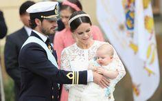 スウェーデンのアレクサンダー王子の洗礼式が行われる