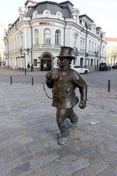 Tallinn, Estonia chimney sweep statue