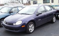 Plymouth Neon Sedan Blue