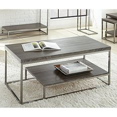 LYKE Home Grey Cocktail Table