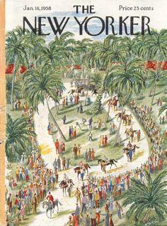 Constantin Alajalov   The New Yorker 1958