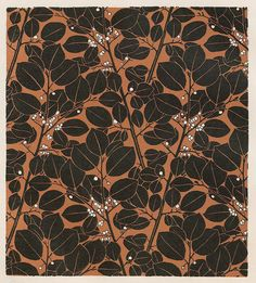 Pattern Design by Koloman Moser on Curiator, the world's biggest collaborative art collection. Textile Patterns, Textile Prints, Print Patterns, Textiles, Pattern Print, Koloman Moser, Illustration Art Nouveau, Graphic Art, Graphic Design