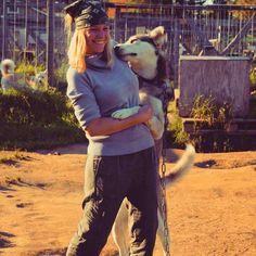 Anna D. dancing with TANE-husky Photo: Anna
