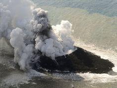 Víz alatti vulkánkitörés szül New Island Off Japán - BuzzFeed News