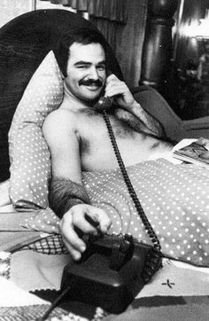 burt reynolds on the phone