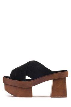 Jeffrey Campbell Shoes NAPOLI Platforms in Black