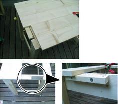 簡単 机の作り方 - 簡単木工 2×4材で作る机 (初心者木工)