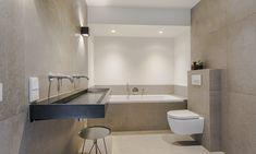 Bathroom Inspiration, Bathroom Lighting, Condo, Bathtub, Patio, Mirror, House, Furniture, Home Decor