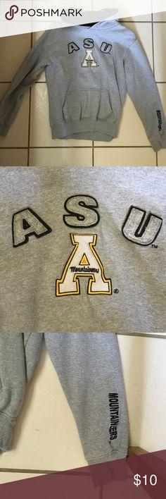 ASU Appalachian State University hoodie Great condition. Jackets & Coats