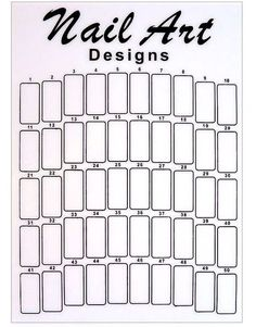 Weißfarbenes Mustertip Display. Präsentationsdisplay/Ständer. Für 50 Tips | eBay Nail Art Designs, Colorful Nail Designs, Uñas Diy, Finger Art, Nail Patterns, Templates Printable Free, Creative Nails, Nail Tech, Diy Nails