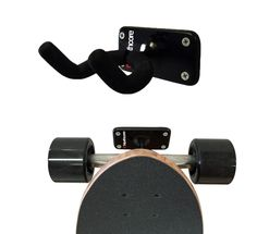 Simple, effective and very useful...introducing the brand new Northcore skateboard wall display and storage hanger. Just 4 screws fixes it to a wall and you can store any size skateboard :)