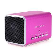 Music Angel Cubic Bluetooth Speaker MD05BT