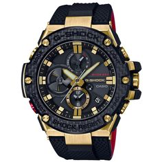 Shop men's and women's digital watches from G-SHOCK. G-SHOCK blends bold style with the most durable digital and analog-digital watches in the industry. Casio G-shock, Casio Watch, G Shock Watches, Sport Watches, Cool Watches, Men's Watches, Silver Watches, Cartier Watches, Black Watches