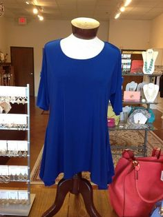 Nice top with cut-outs in sleeves from Finley's Boutique!