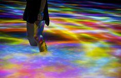 Exposição digital no Japão promete aguçar os sentidos com show de luzes, cores e…