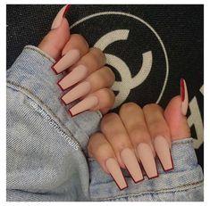 Bling Acrylic Nails, Acrylic Nails Coffin Short, Simple Acrylic Nails, Square Acrylic Nails, Coffin Nails, Colored Acrylic Nails, Edgy Nails, Stylish Nails, Swag Nails