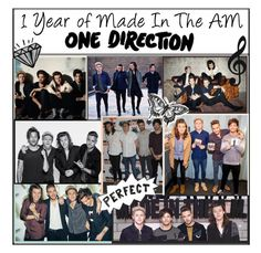 """""""1 Year of Made In The A.M. - One Direction"""" by xcuteniallx ❤ liked on Polyvore featuring Payne"""