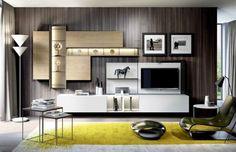 Composizione 501 Skyline 2.0 Moderno - soggiorno