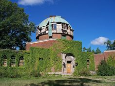 OH Cleveland - Abandoned Observatory 2 by scottamus, via Flickr