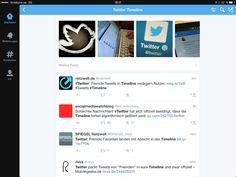 Twitter schraubt an seiner Timeline herum Twitter, Timeline, Psychics, Messages