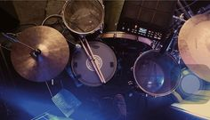 PICTURE DRUMS #evans #full #set #nice