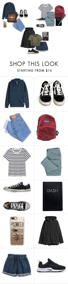 """""""Jj's wardrobe"""" by emmas-weird ❤ liked on Polyvore featuring True Religion, Vans, Levi's, Harley-Davidson, JanSport, Converse, Paper Mate, Casetify, Chicnova Fashion and Retrò"""