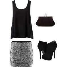 Night Out outfit cute! Cute for a night out. yet not trashy. completelylove. :)
