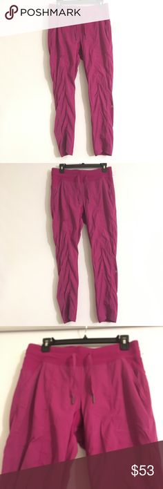 Lululemon Purple Legging Sweat Pants 8 Like new condition. lululemon athletica Pants Leggings