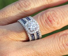 stacked wedding band images   Show me your stacked wedding set