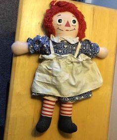 Johnny Gruelles Own Raggedy Ann Doll Vtg Knickerbocker Classic Soft Stuffed Toy Ann Doll, Raggedy Ann And Andy, Stuffed Toy, Dolls, Classic, Ebay, Baby Dolls, Derby, Puppet