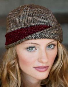 Knitting Pattern for Lucy Cloche Hat