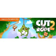 Cut the Rope 2 is coming on December 19th!  #cuttherope #cuttherope2 #omnom #cute #green #little #monster #love #new #game #puzzle #family #playing #play #mobile #games #phone #fun #happy #nice #iphone #ipod #ipad #app #application