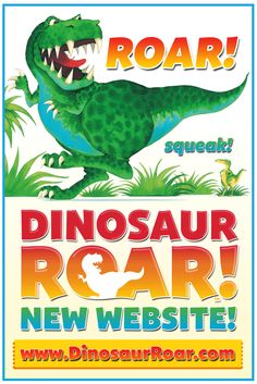 A very special friend of mine has just opened this website - go take a peek!  #DinosaurRoar - The NEW Website!  Great fun for kids! Kids who love dinosaurs! Dinosaur Fun and Dinosaur Games, Dinosaur Kids Crafts and Party Ideas. Free Dinosaur Colouring Sheets and Pages. Great for dinosaur-mad kids of any age, from preschool up! VISIT DINOSAUR ROAR HERE ▶ www.DinosaurRoar.com  #ROAR TRY THE DINOSAUR GIF!  #funnygifs #gifs #dinosaurs #kids #preschool #free #kidsapps #childrensbooks…