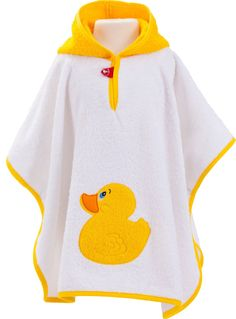 Smithy Bath Poncho Terry Towelling Bath Duck 50 x 70 cm Baby Sewing Projects, Sewing Patterns For Kids, Baby Patterns, Baby Towel, Baby Ducks, Clothing Hacks, Baby Kind, Cute Baby Clothes, Washing Clothes