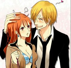 Nami X Sanji One Piece anime Future Cosplay