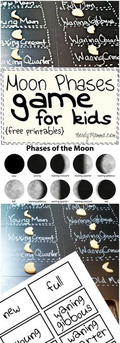 Moon Phases Game for