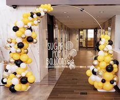 Balloon Decorating & Twisting | Rochester, NY | Sugar Pop Balloons Qualatex Balloons, Balloon Arch, Arches, Popsugar, Organic, Fruit, Decor, Bows, Dekoration