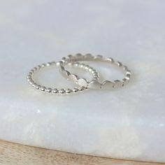 Intricate jewellery in silver and gold by Leila Swift. Stacking Rings, Jewellery, Sterling Silver, Bracelets, Gold, Jewels, Schmuck, Bracelet, Jewelry Shop