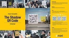 Emart Sunny Sale Campaign - 3D Shadow QR Code, via YouTube.