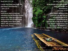 What does Jesus want to give you?  +  ¿Qué quiere Jesús darte?  +  http://www.biblegateway.com/passage/?search=john+10%3A7-10