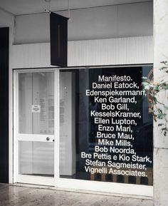Dark Side of Typography Shop Signage, Signage Display, Wayfinding Signage, Signage Design, Office Signage, Cafe Display, Graphic Design Tattoos, Storefront Signs, Window Signs