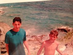 Bermuda at 16 with my brother... Second time there was in 2008; I got engaged...bad move, great trip!